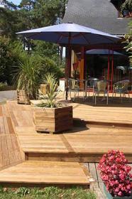 terrasse bois nos conseils et packs pour les terrasses. Black Bedroom Furniture Sets. Home Design Ideas