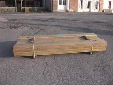 pack terrasse 10m2 traitement pin autoclave classe 4 terrasse bois. Black Bedroom Furniture Sets. Home Design Ideas